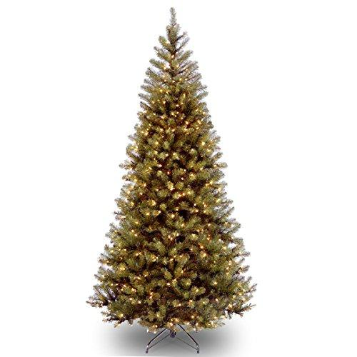 Aspen Spruce Tree with Clear Lights
