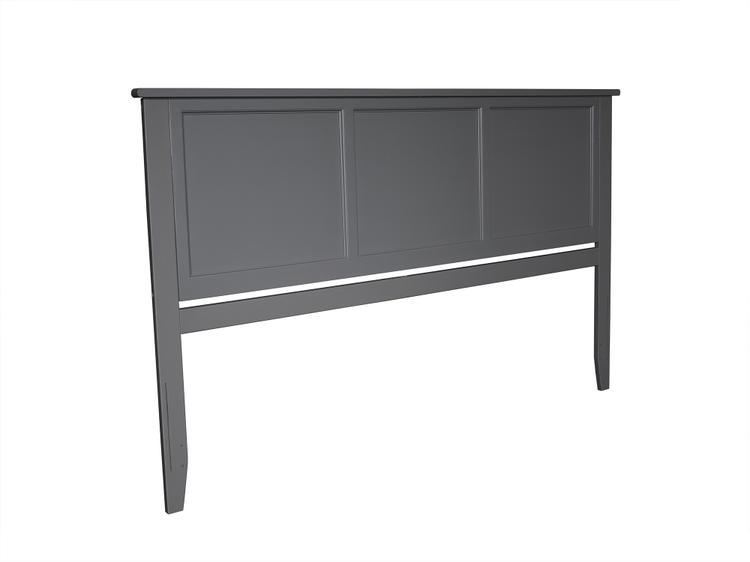 Atlantic Furniture Madison Headboard King Grey