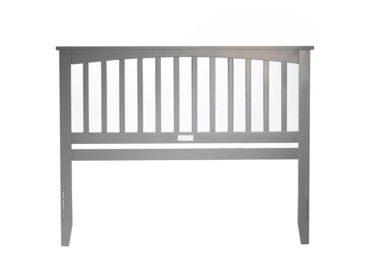 Mission Headboard Queen Grey
