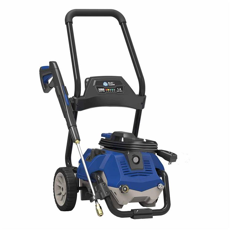 AR Blue Clean AR2N1 Electric Pressure Washer 2050 Psi, Removeable Cart Included