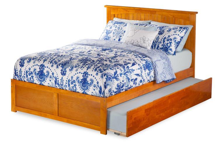 Nantucket Flat Panel Foot Board w/ Urban Trundle Bed