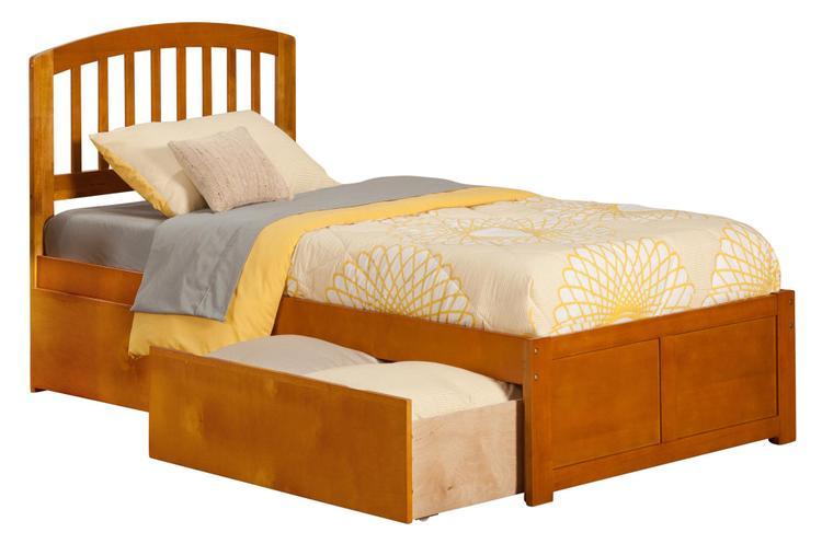 Richmond Flat Panel Foot Board w/ 2 Urban Bed Drawers