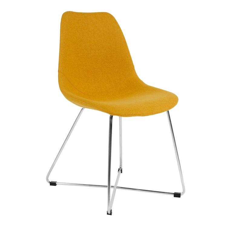Kanto Wool Side Chairs With Base
