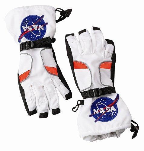 Astronaut Gloves, White - Medium