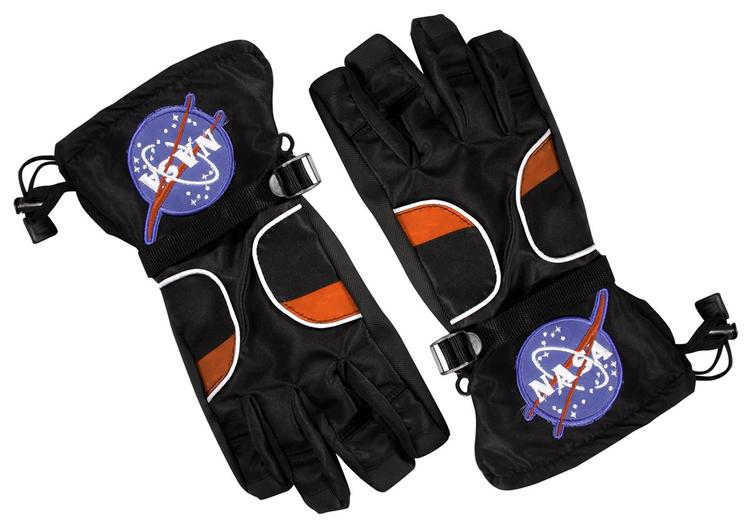 Astronaut Gloves, Black - Large