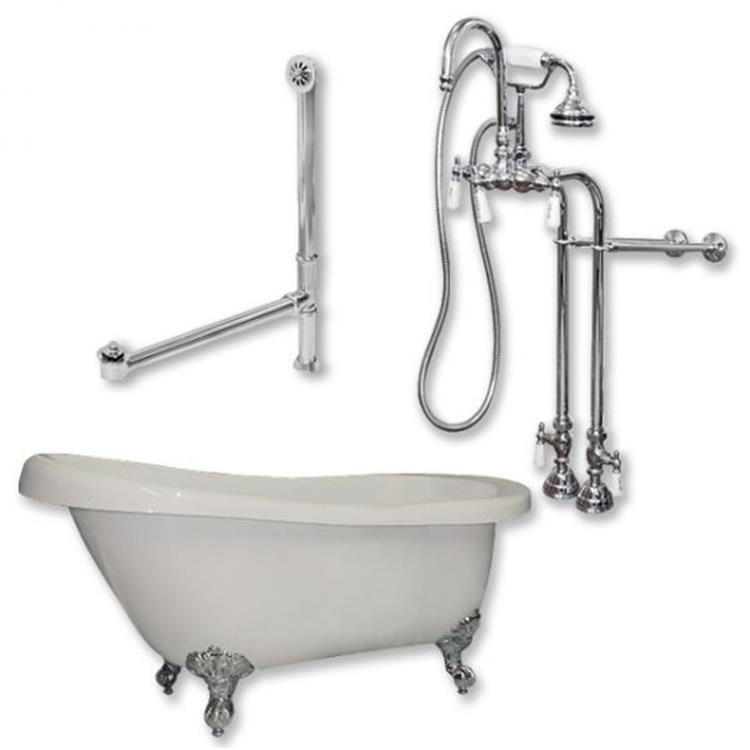 Acrylic  Slipper Bathtub 67
