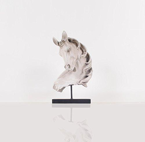 Anne Home - Horse Head Statue