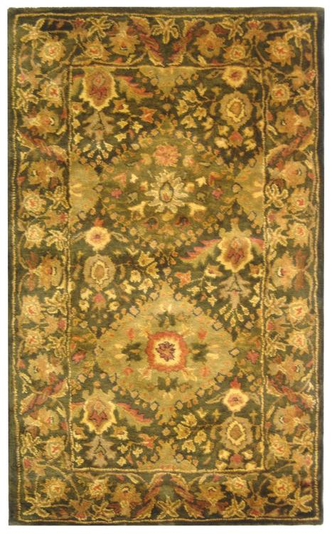 Traditional Rug - Antiquity Wool Pile -Olive