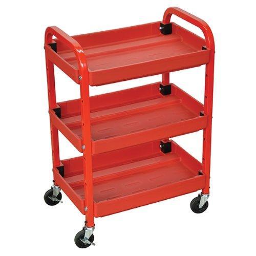 Luxor Adjustable Utility Cart - Three Shelves