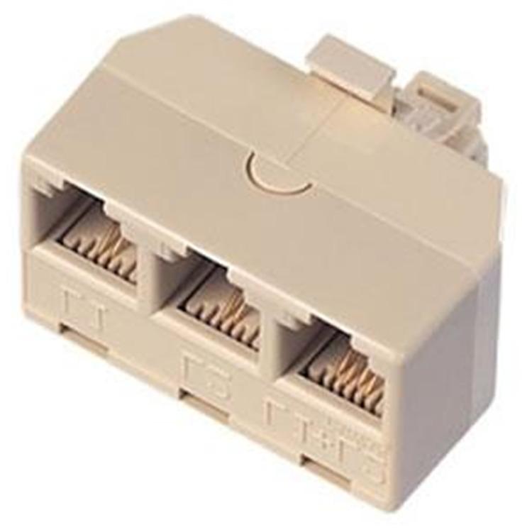 Triplex Adapter IVORY