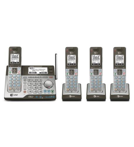 ATT 4 Handset System with Answering