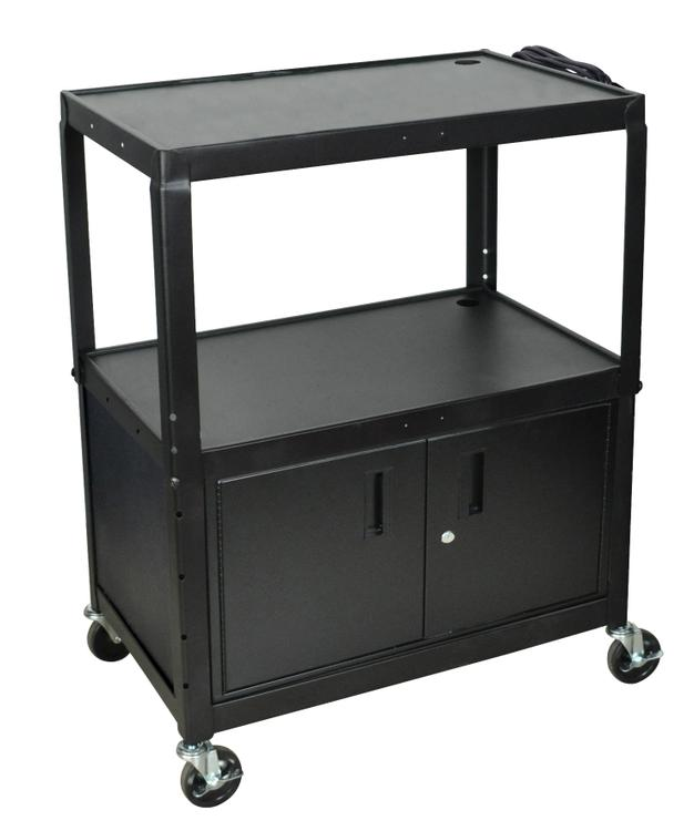 Luxor Extra Large Adjustable Height Steel Cart