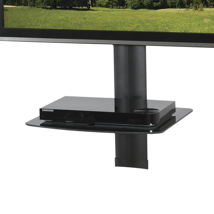 Kanto AVS1 AV Component Wall Shelf - Single