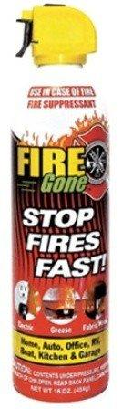 FIRE GONE FG-007-102 Fire Gone(R) Fire Suppressant