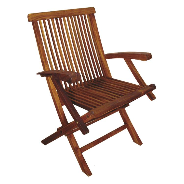 TERRACE MATES Folding Arm Chair / (Set of 2)