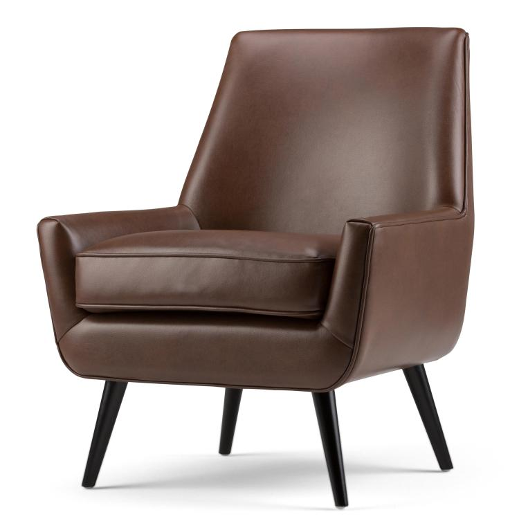 Simpli Home Warhol Mid Century Accent Chair