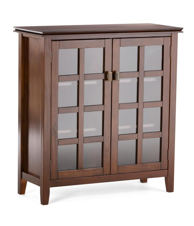 Simpli Home Artisan Medium Storage Cabinet
