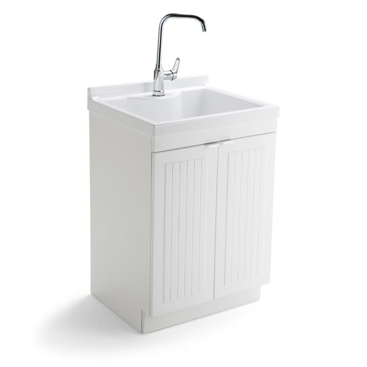 Murphy Laundry Cabinet With Faucet And ABS Sink