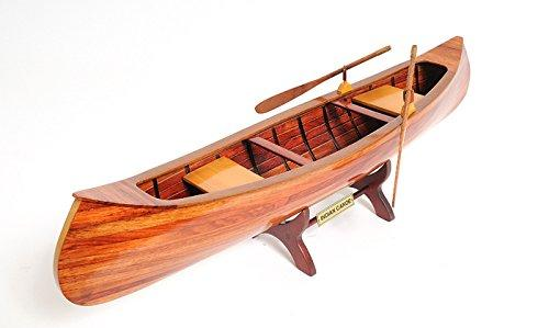 Indian Girl Canoe [Item # B013]