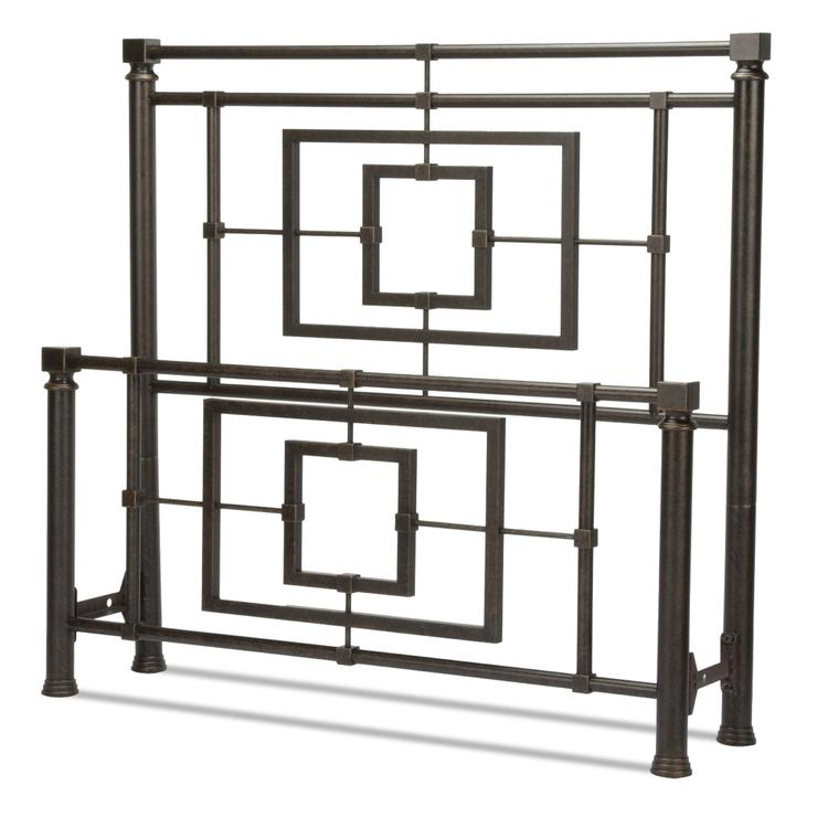 Sheridan Bed With Squared Metal Tubing