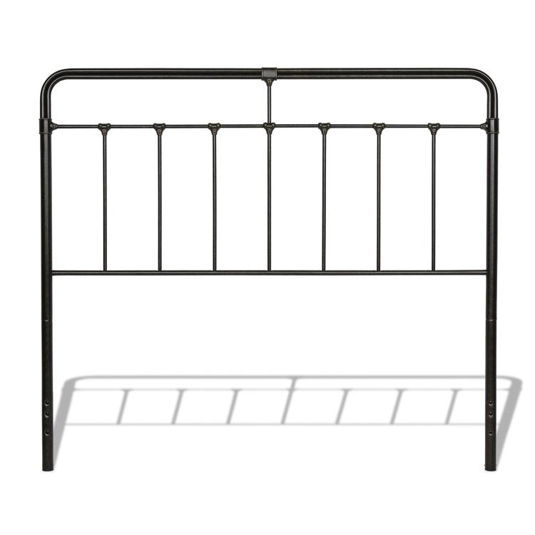 Fairfield Metal Headboard with Spindles and Castings