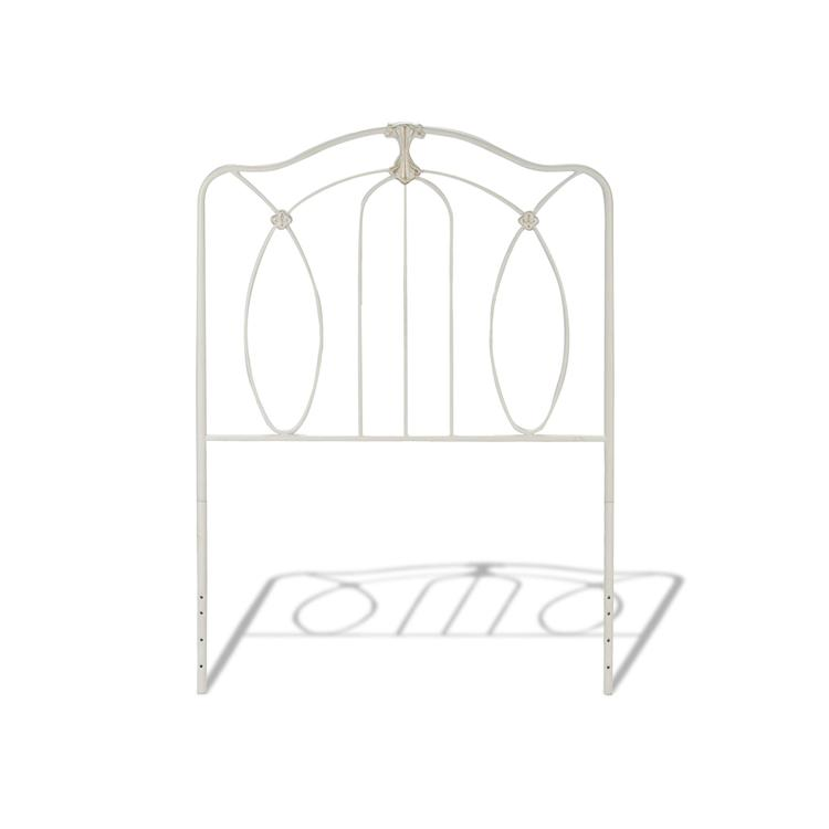 Kaylin Kids Metal Headboard Panel with Medallions Accents