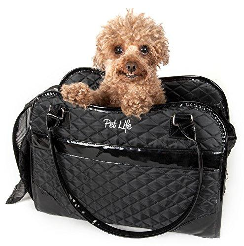 Exquisite' Handbag Fashion Pet Carrier [Item # B23BKMD]