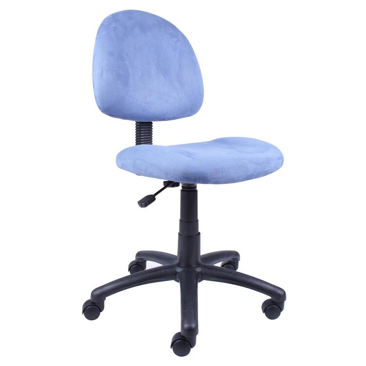 Boss Office Pink Microfiber Deluxe Posture Chair