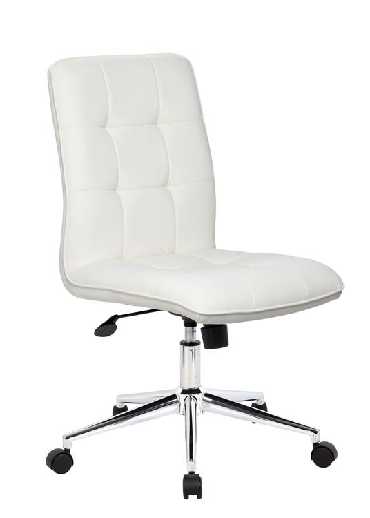 Boss Office Modern Office Chair - White
