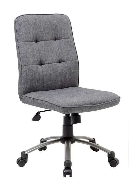 Boss Office Modern Office Chair - Slate Grey