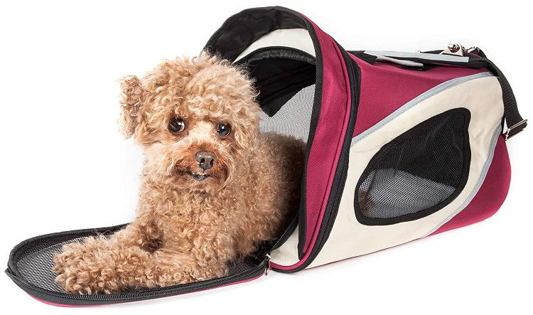 Pet Life Airline Approved Phenom-Air Collapsible Pet Carrier