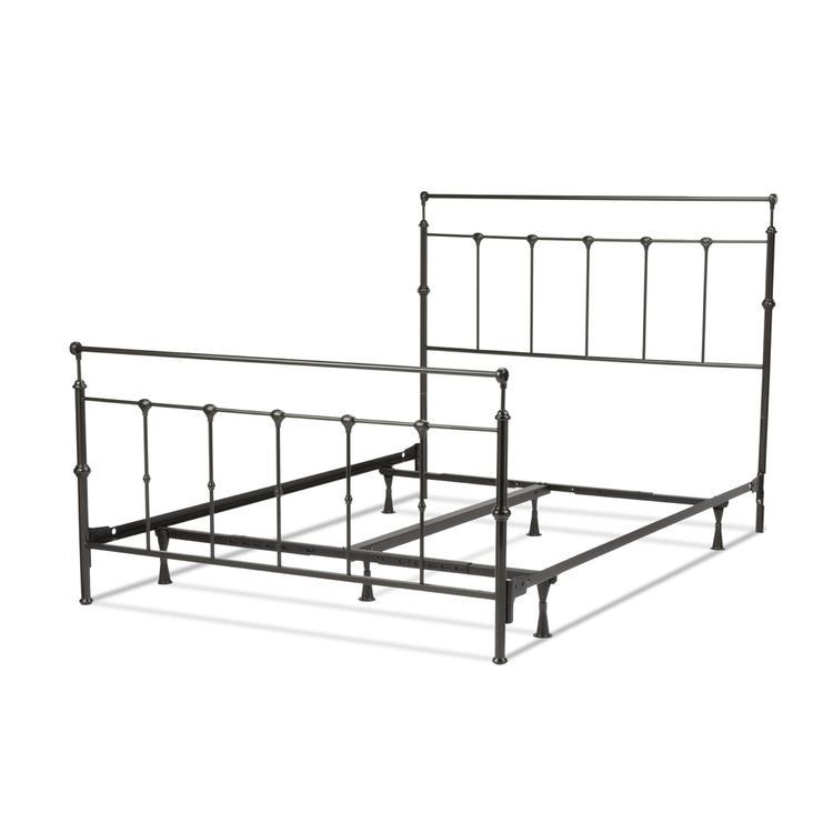 Winslow Complete Bed With Metal Panels And Castings