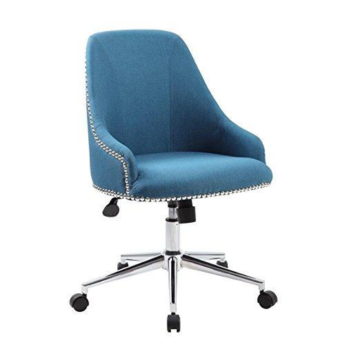 Boss Office Carnegie Desk Chair - Peacock Blue