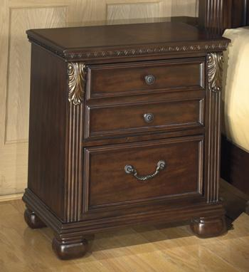 Leahlyn Two Drawer Night Stand