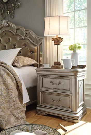 Birlanny Two Drawer Night Stand