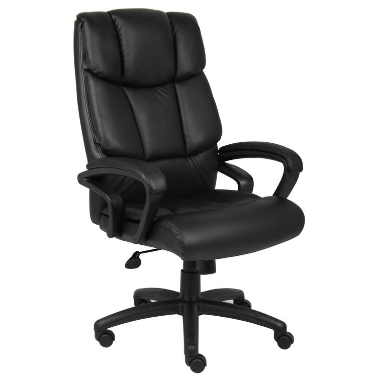 Boss Executive Top Grain Leather Chair