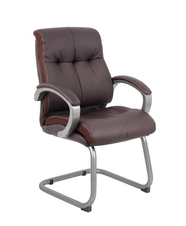 Boss Double Plush Executive Guest Chair