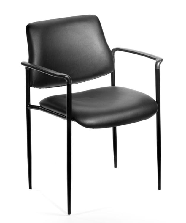 Boss Square Back Diamond Stacking Chair