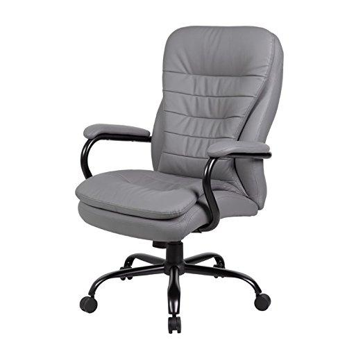 Boss Office Heavy Duty Double Plush CaressoftPlus Chair - 350 Lbs.