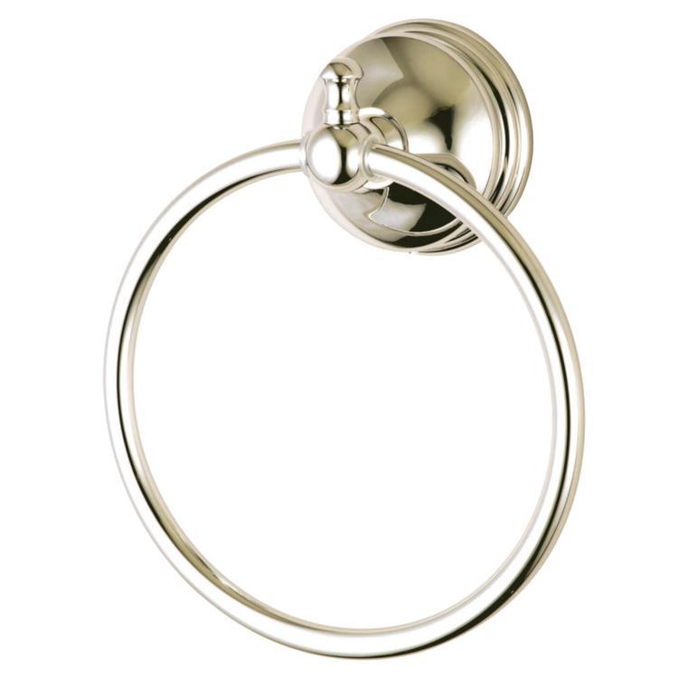 Kingston Brass BA7614PN Towel Ring, Polished Nickel