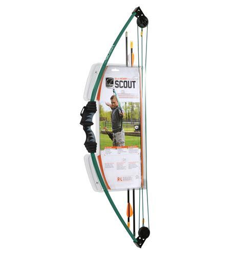 Scout Bow Set Hunter Green