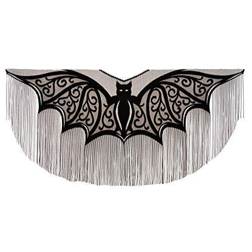 Bats! 57X57 Fringe Poncho