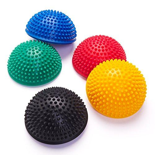 Black Mountain Products Balancing Exercise Stability Pods Pack of Five