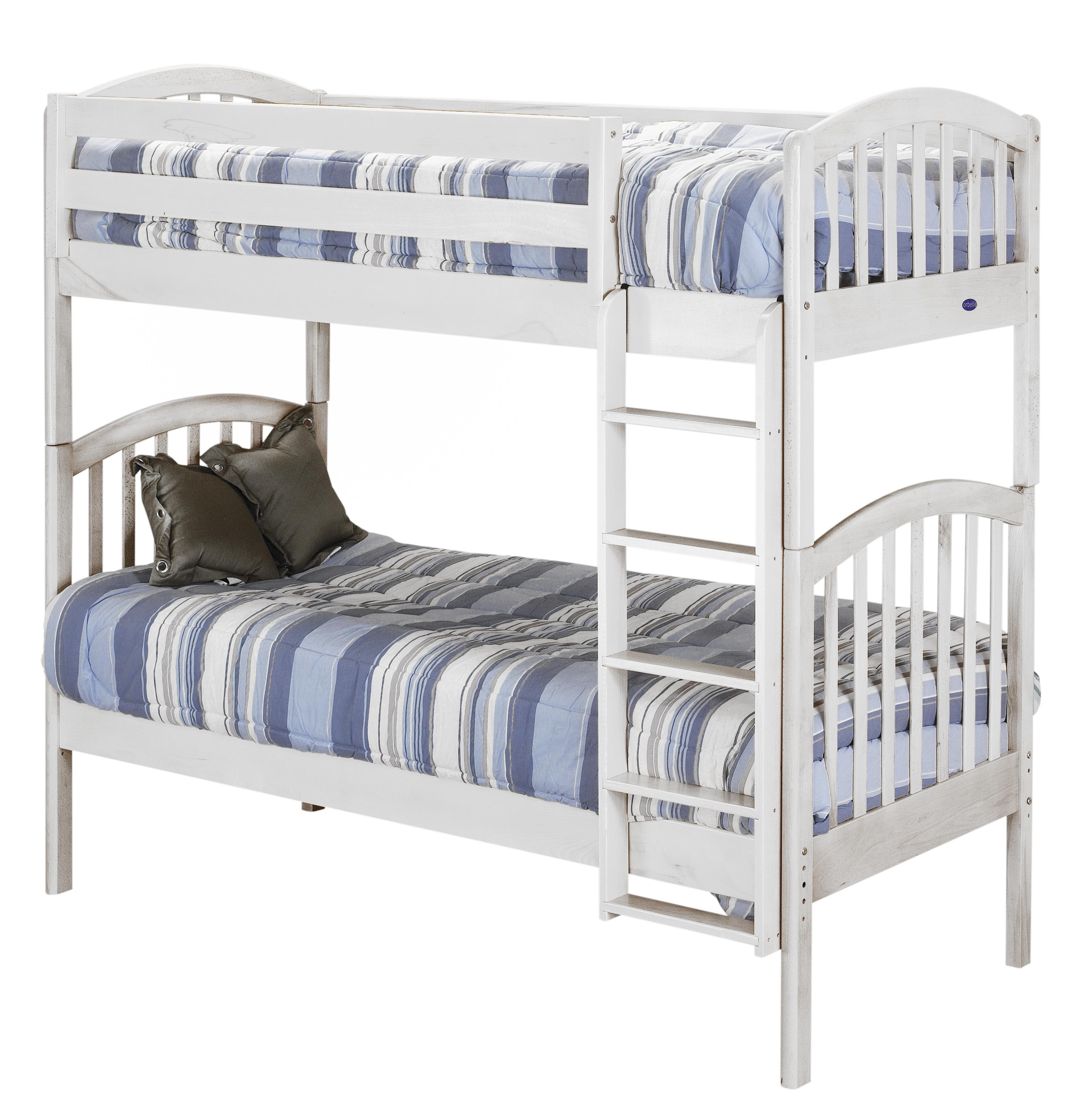 Traditional Style Bunk Bed