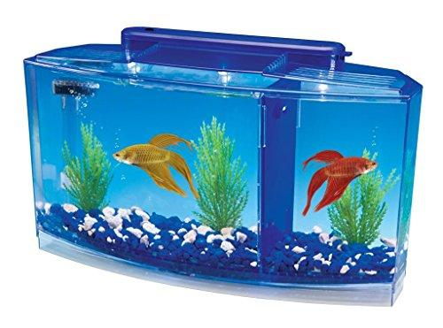 WaTE World Betta Bow Front 1-2-3 Tank Kit