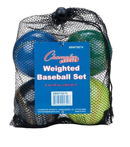 Weighted Training Baseball Set