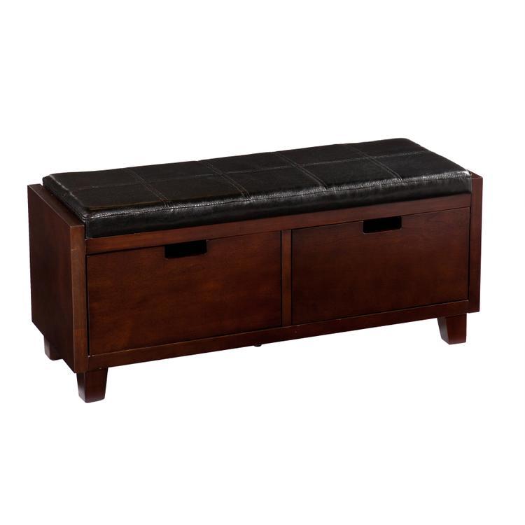 Southern Enterprises Capistrano 2-Drawer Bench