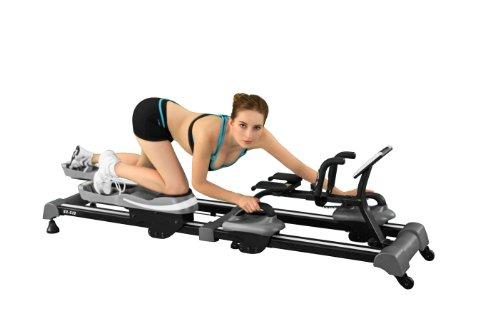 Back2Crawl Professional Series Bear Crawl Horizontal Exercise Machine, Black