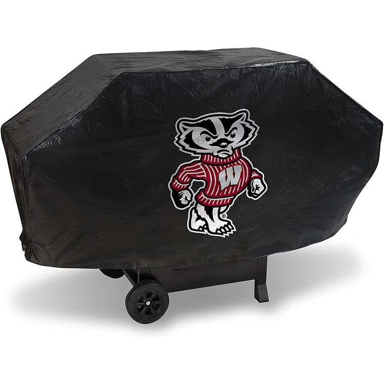 Rico Industries NCAA Wisconsin University Deluxe Grill Cover