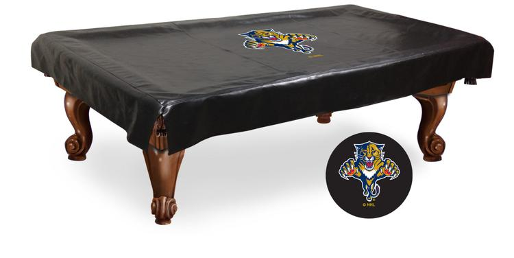 Florida Panthers Billiard Table Cover [Item # BCV7FlaPan]